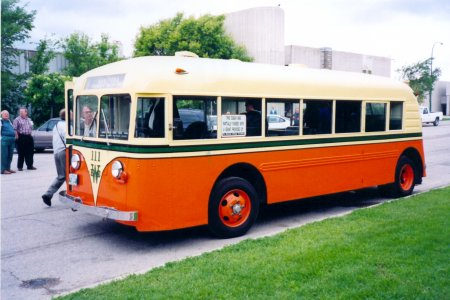 1937 Twin Coach 23R, ex Winnipeg Electric