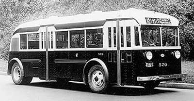 1937 Twin Coach bus