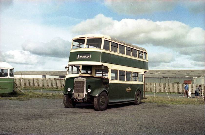 1938 Bristol K5G with Weymann L24-24R body seen at Winkleigh
