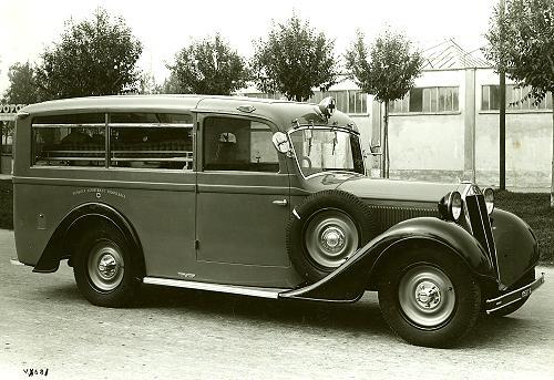 1938 Carrozzeria Viberti arambul
