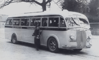 1938 Krupp Krupp Verheul GTW124 Buizerd M-53453