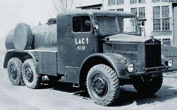 1938 Tatra-85, 6x6