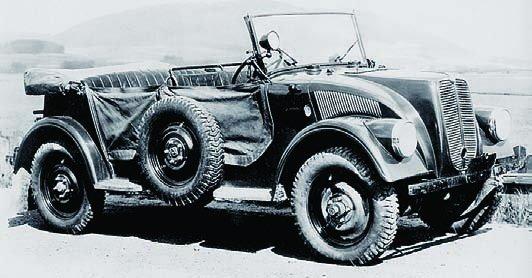 1938 Tatra V799, 4x4