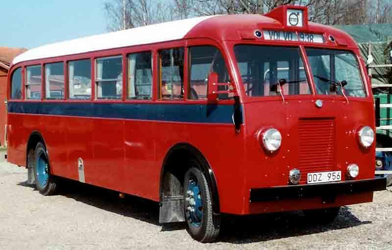1938 Volvo B10 Bus