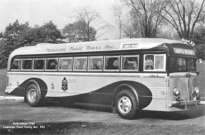 1938 White 7788 Tamiami Trail Tours Inc 913