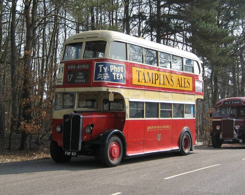 1939 AEC Regent I with Weymann 56 seat bodywork