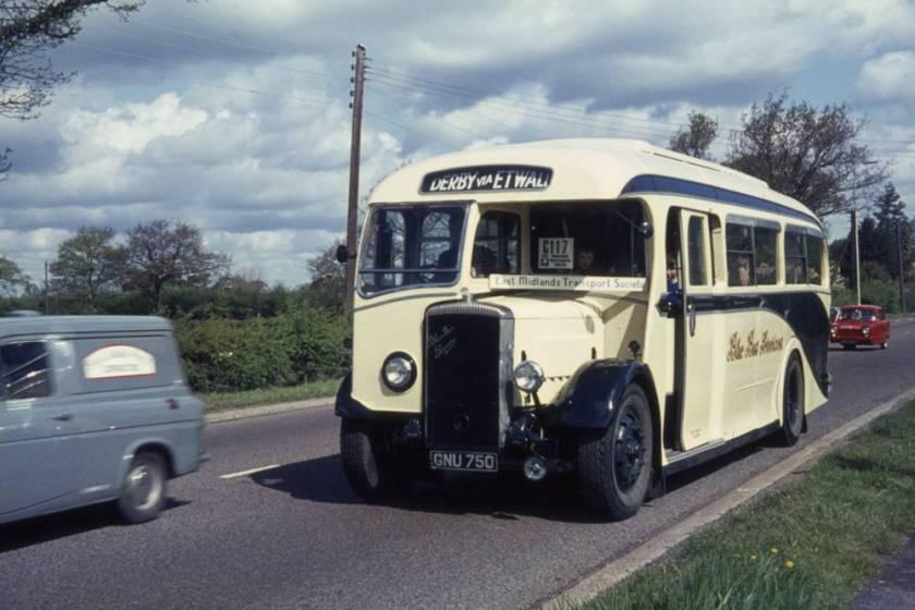 1939 Daimler COG5-40 with Willowbrook C35F body