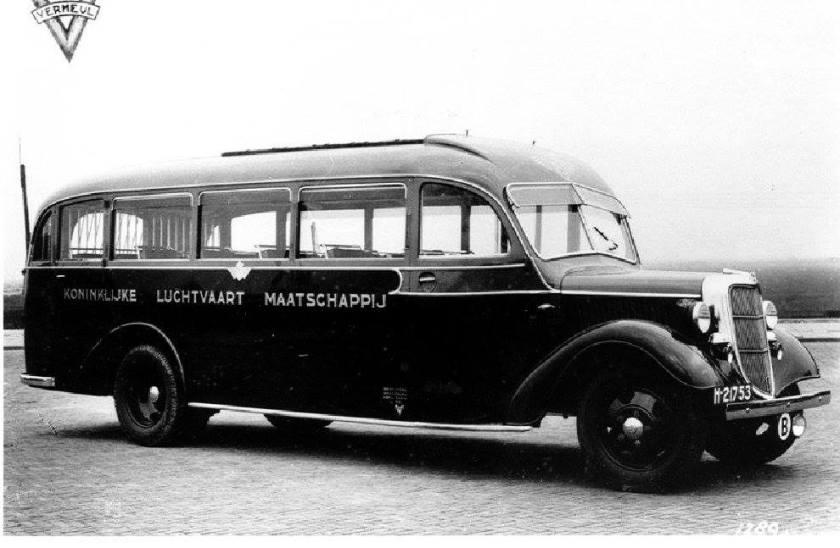 1939 Ford-Verheul  2 foto via Frank vd Boogert KLM