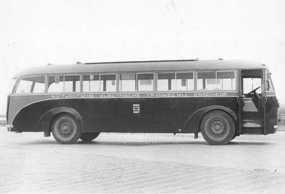 1939 Kromhout 11 met carrosserie van Verheul.