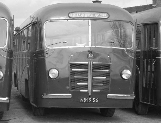 1939 Kromhout TB4 Verheul-bus, Enhabo, Landsmeer NB-19-56.