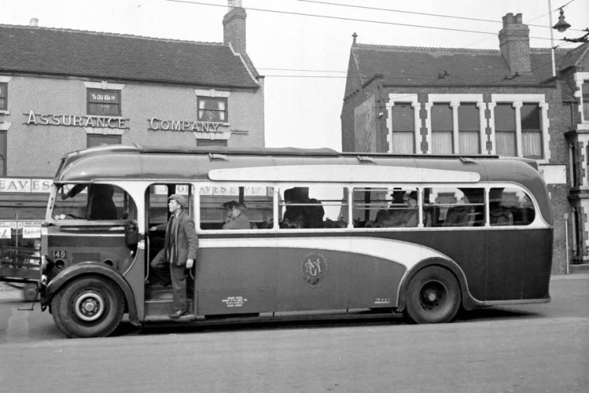 1939 Leyland TS8 with Weymann DP35F body