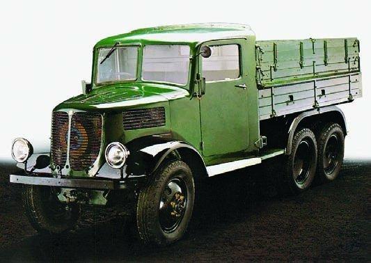 1939 Tatra-93, 6x6