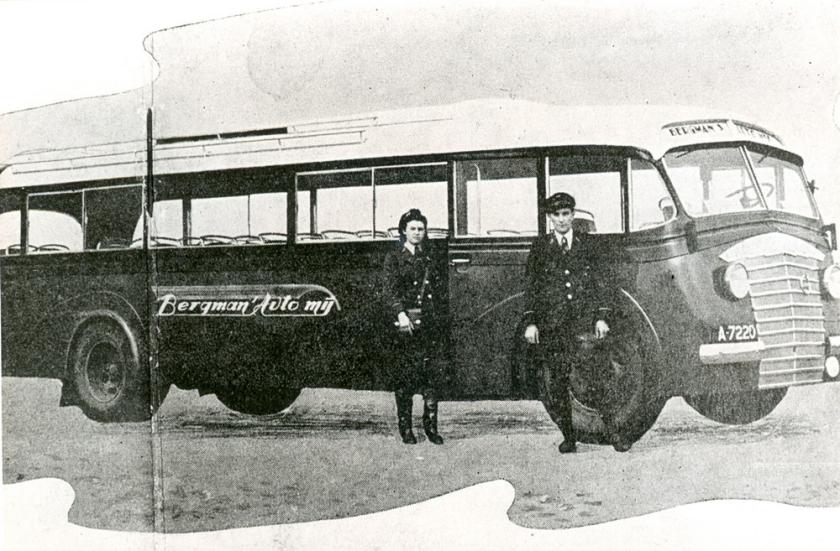 1939 Volvo, bus nummer 5