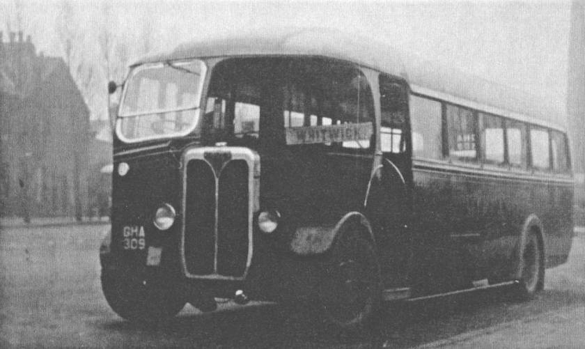 1940 Midland Red SOS SON 2390, GHA309, with Brush B38F body