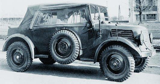 1940 Tatra V809, 4x4