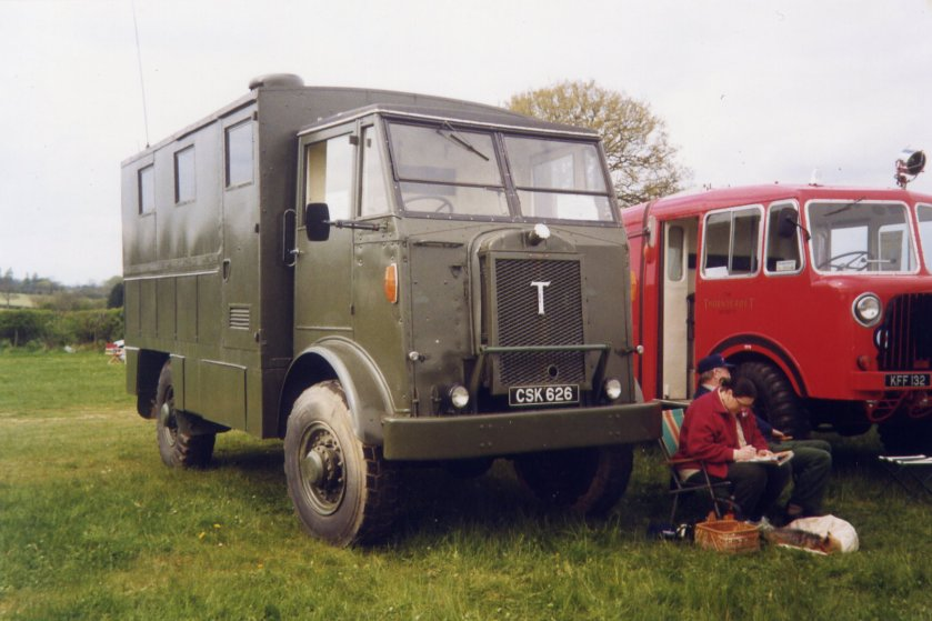 1940 Thornycroft Nubian 3Ton 4x4 Office (CSK 626)