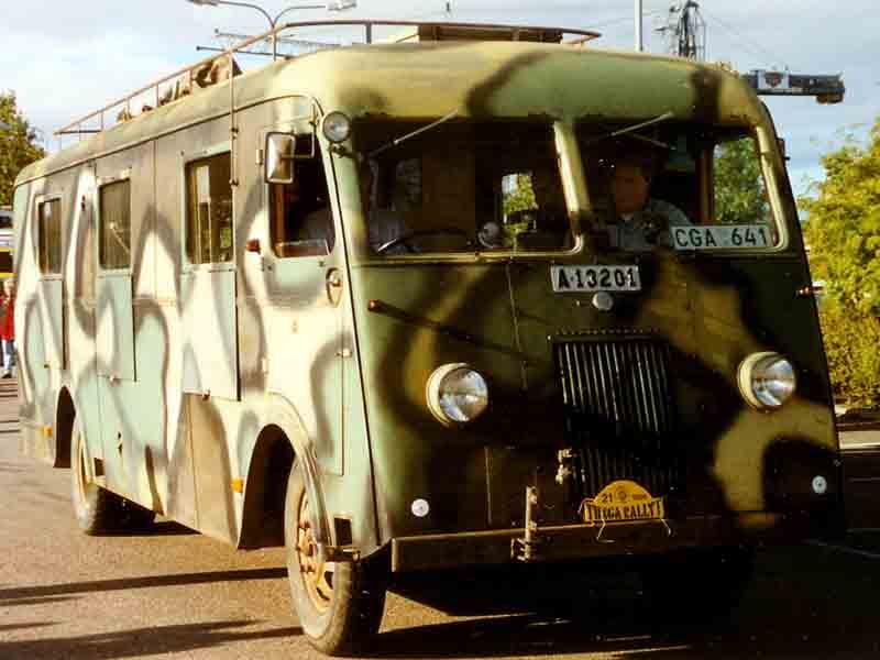 1940 Volvo B12 Bus