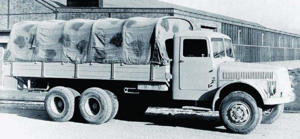 1943 Tatra-111 (Т8000), 6x6