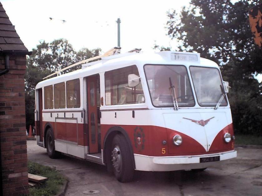 1943 Vetra CB60 trolleybus 5, 964 H 87