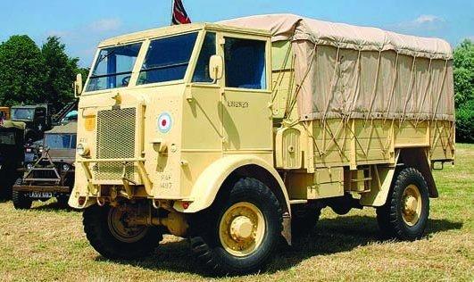 1944 Thornycroft Nubian TF, 4x4