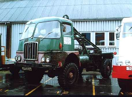 1945 Thornycroft Nubian timber truck