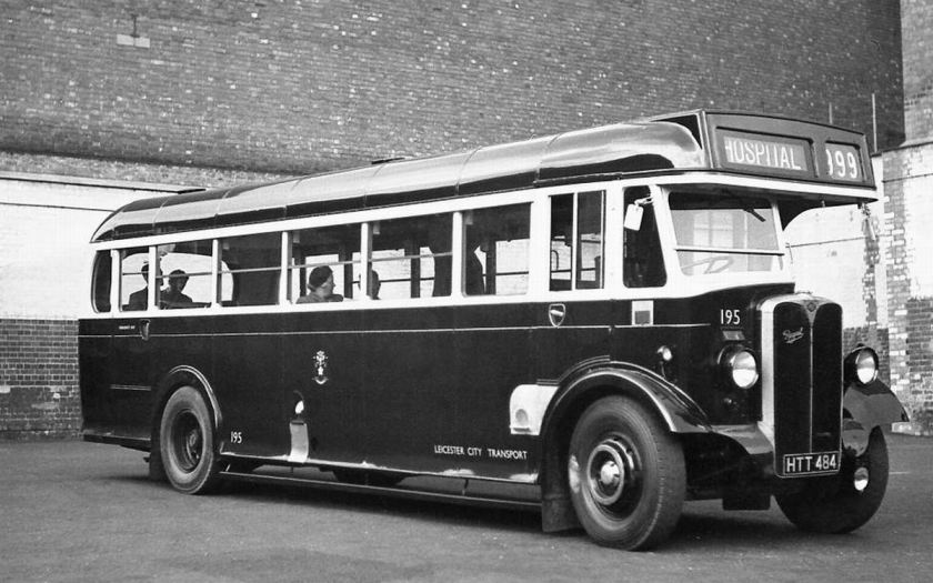 1946 AEC Regal with Weymann B35F body, new to Devon General as their SR484