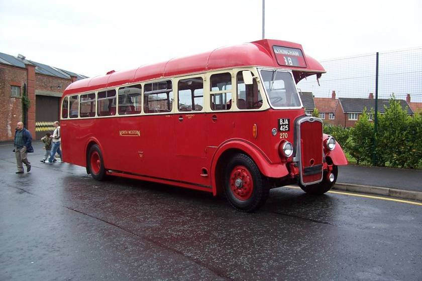 1946 Bristol L5G with Willowbrook body