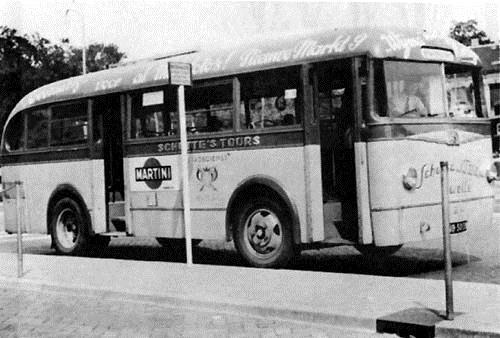 1946 Ford transit-Verheul stadsbus