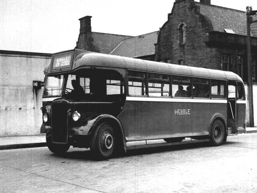 1946 Leyland PS1 with Weymann B33R body