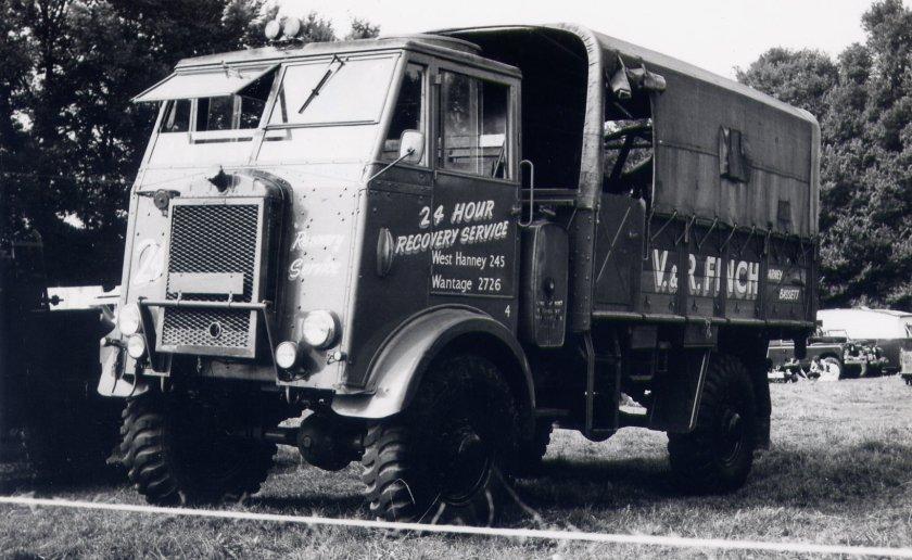 1946 Thornycroft Nubian 3Ton 4x4 Cargo a