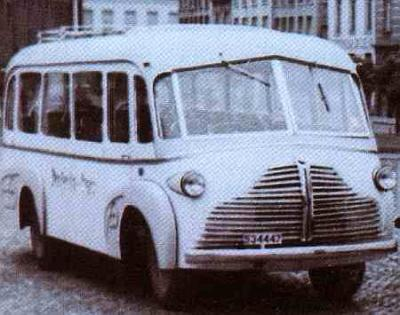 1946 Van Hool Commer-Chassis