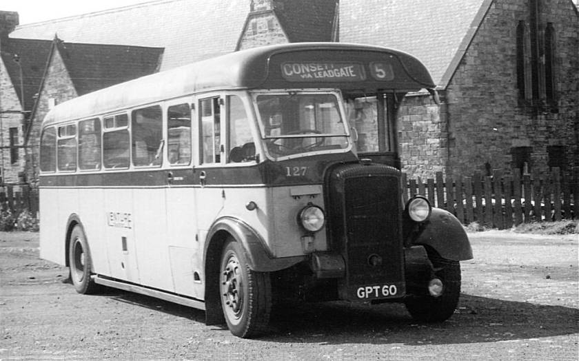 1946 Willowbrook bodied Daimler CVD6