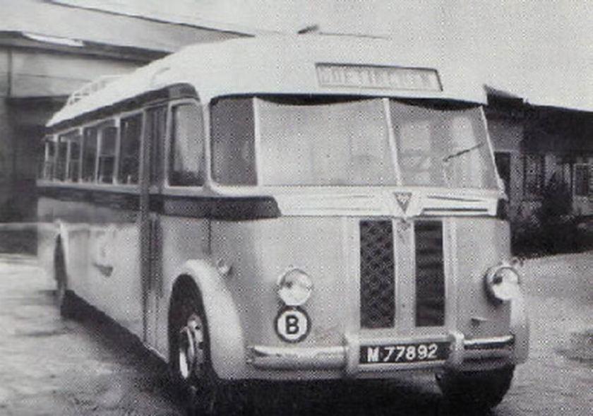 1947 AEC AEC Regal MKIII carr Verheul GTW350