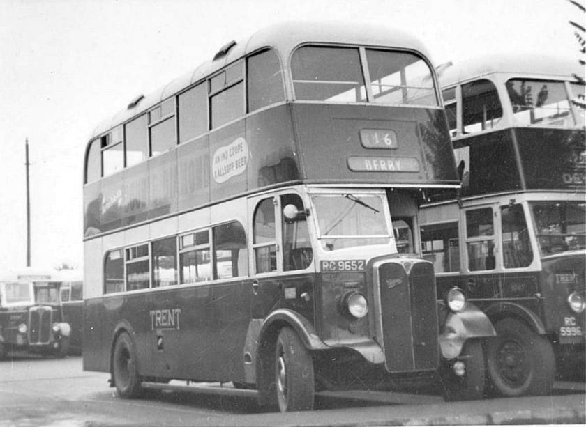 1947 AEC Regent with Willowbrook H30-26R body