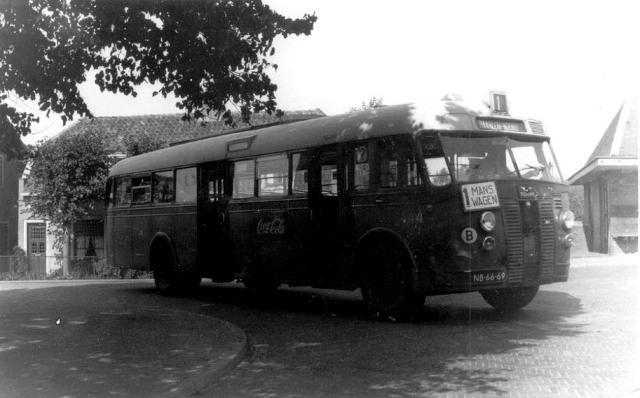 1947 Bussen Crossley Werkspoor NL