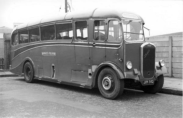 1947 Dennis Lancet III with Whitson C33F body