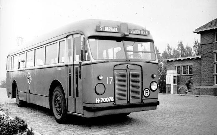 1947 Scania Verheul HTM 17 1947 St Barbara Den Haag