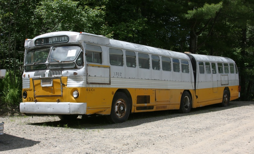 1947 Twin Coach bus 1312 Super Twin