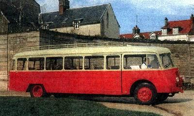 1947 Verney LP Panhard 4HL Dieselmotor 5700cc
