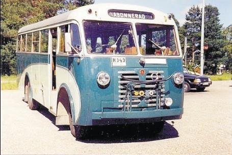 1947 Volvo LV 128 SAVK 6cyl benzin