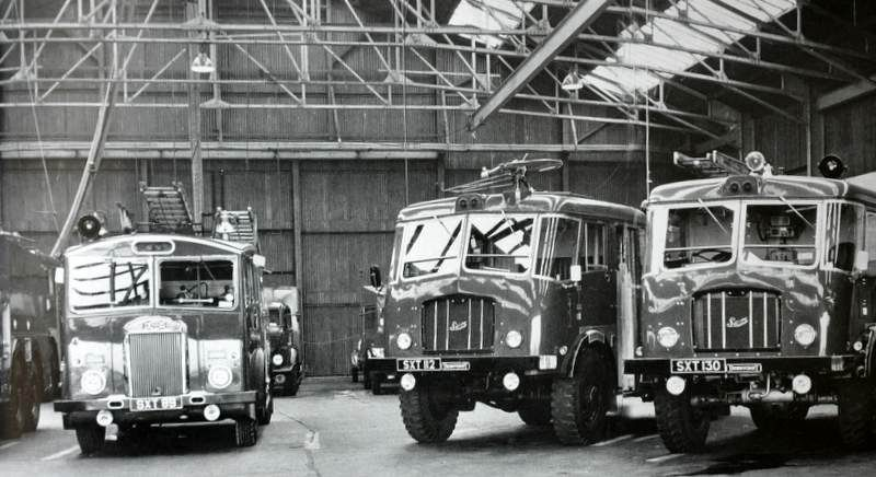 1948 A Dennis & Two Thornycroft Fire Tenders