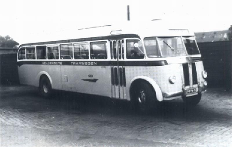 1948 AEC Regal MKIII AEC carr Verheul GTW 354