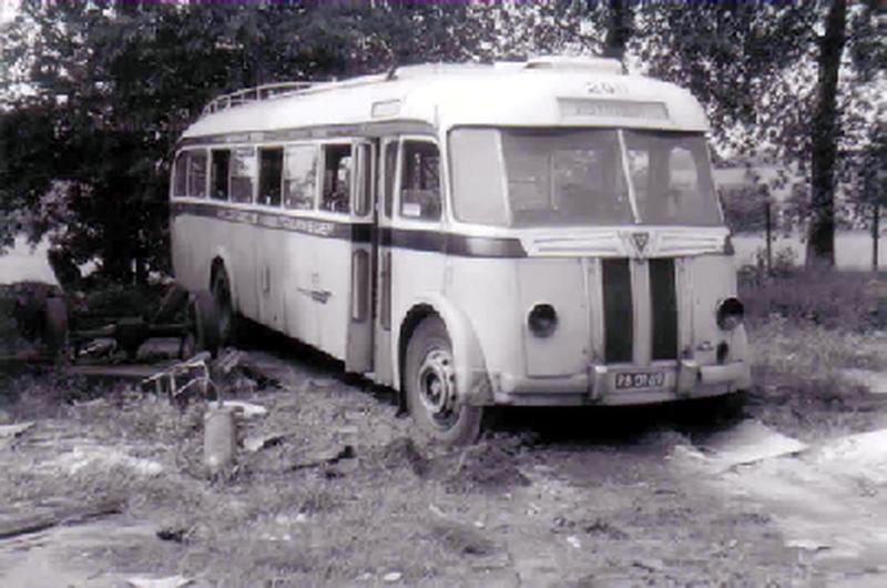 1948 AEC Regal MKIII AEC carr Verheul GTW 355