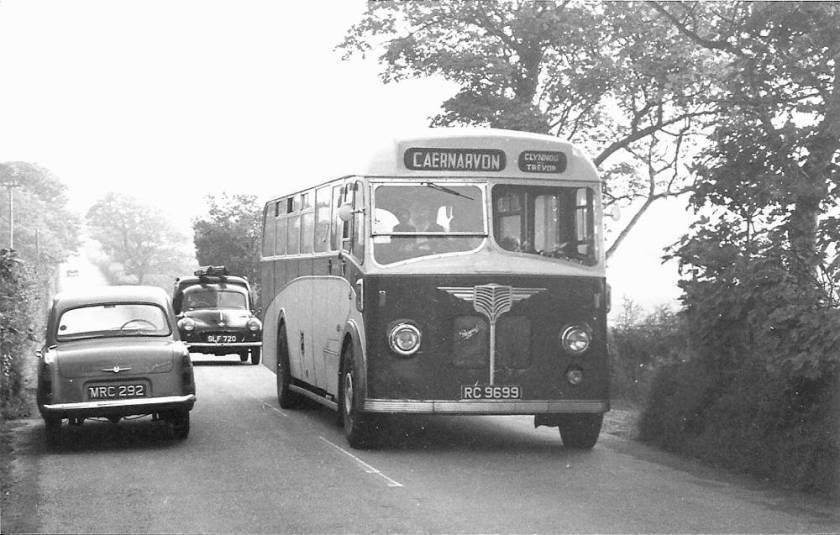 1948 AEC Regal with Willowbrook 35 seat half cab front entrance bus