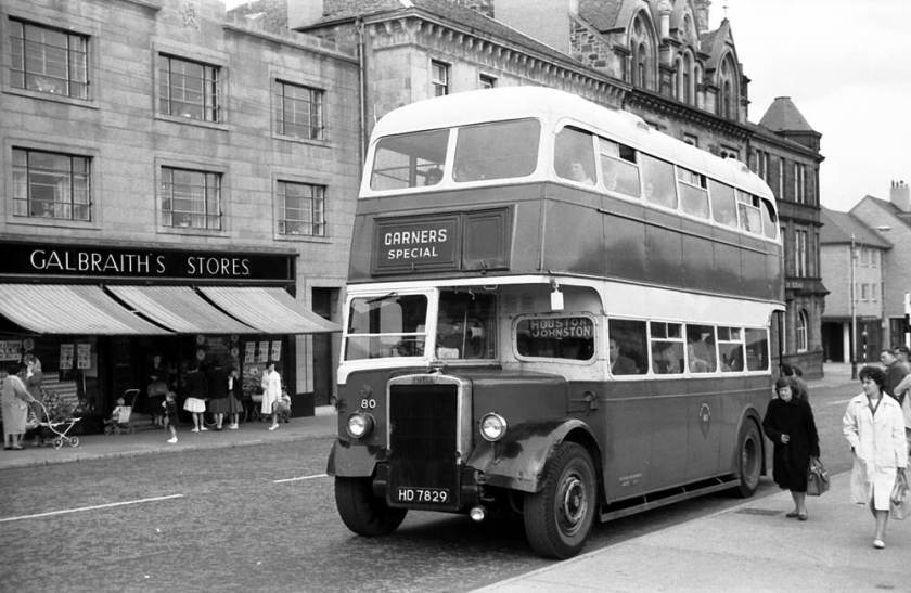 1948 Brush H30-26R bodied Leyland PD2-1