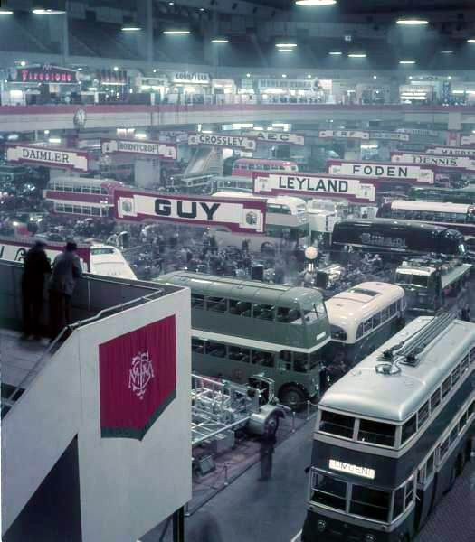 1948 Commercial Motor Transport Exhibition, Earls Court, London a