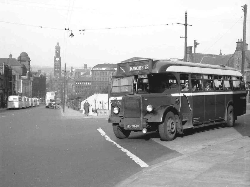 1948 Leyland PS1s with Brush B34F body