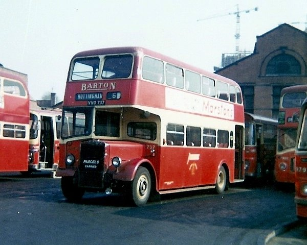 1948 Leyland Tiger PS1 given a Willowbrook double deck body in 1957