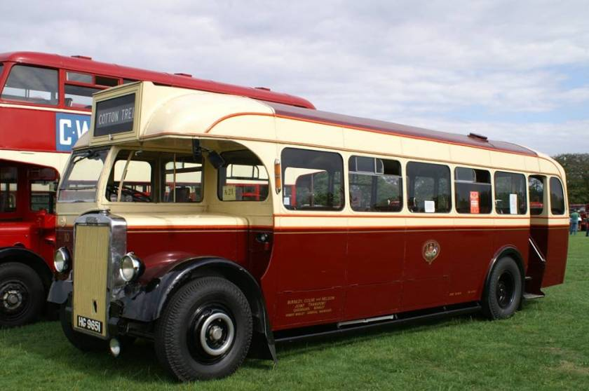1948 Leyland Tiger PS1 with Brush bodywork.9651