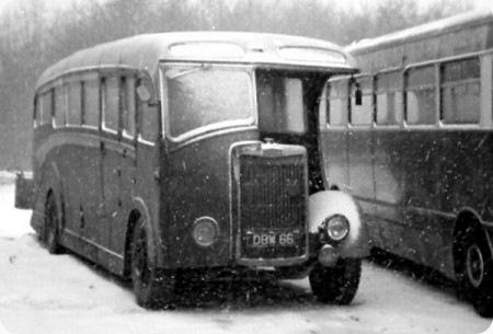 1948 Tilling Stevens K6LA7 DBW-66 Vincent